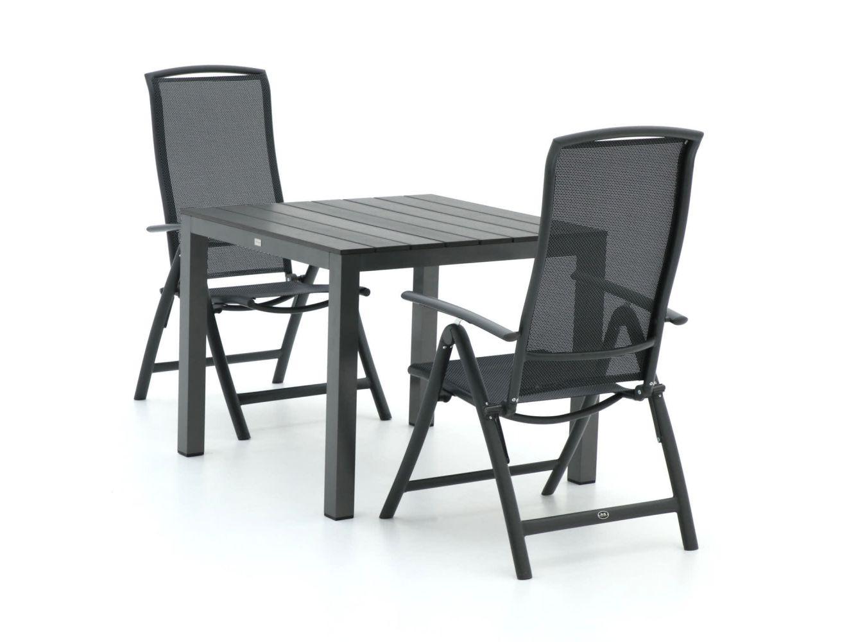 R&S Design Capri/Fidenza 90cm dining tuinset 3-delig verstelbaar