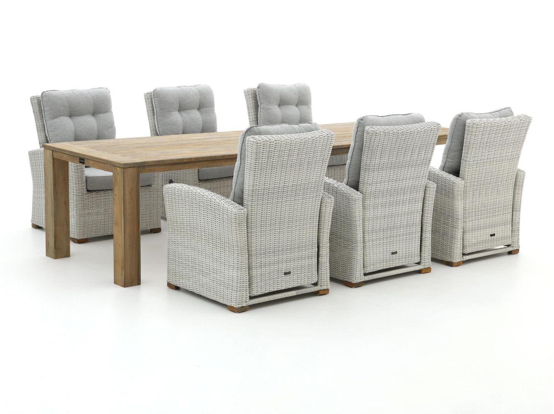 Intenso Mazzano/ROUGH-X 320cm lounge-dining tuinset 7-delig verstelbaar