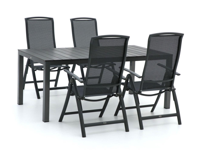 R&S Design Capri/Fidenza 180cm dining tuinset 5-delig verstelbaar