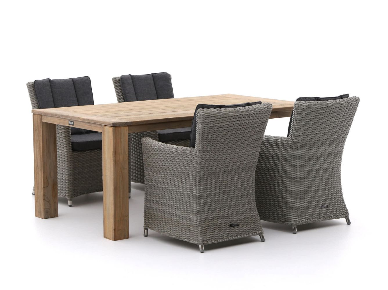 Intenso Adriano/ROUGH-X 180cm dining tuinset 5-delig
