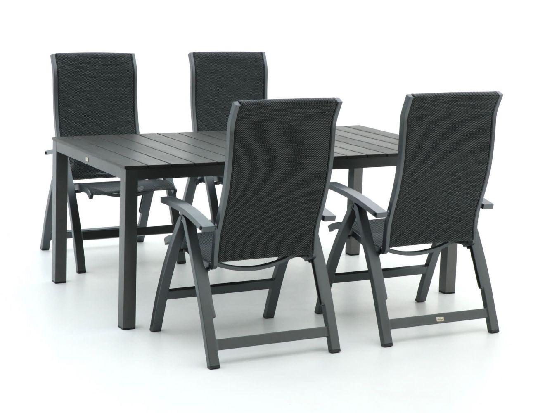 Bellagio Fermo/Fidenza 180cm dining tuinset 5-delig verstelbaar