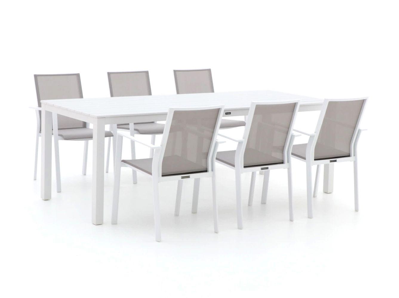 Bernstein Amberg/Menzano 220cm dining tuinset 7-delig stapelbaar
