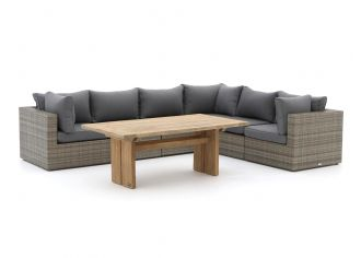 Forza Barolo/ROUGH-L dining loungeset 7-delig