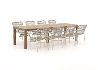 Intenso Parma/ROUGH-S 300cm dining tuinset 9-delig